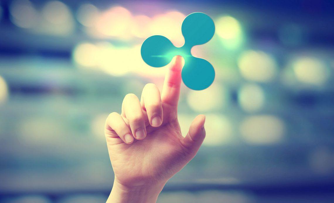 Пульсация логотипа рукой касаясь его