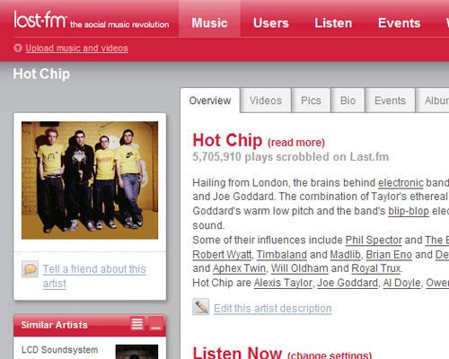 Использование Last.fm для улучшения вашего Audiovascular Fitness