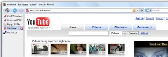 Верните себе пространство экрана: разверните область просмотра Firefox