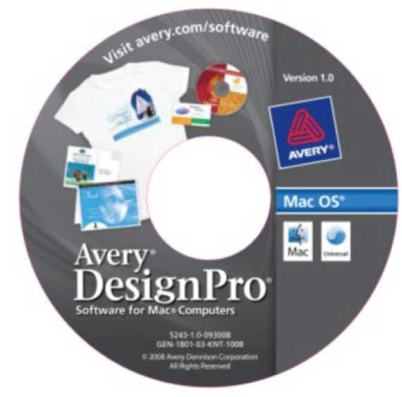 Как создавать новые дизайн-проекты с помощью Avery DesignPro