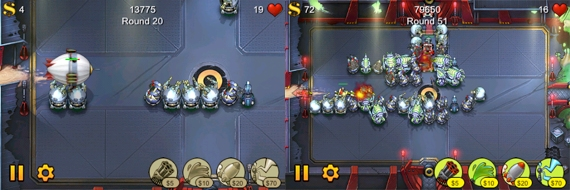 лучшая игра Iphone Tower Defense