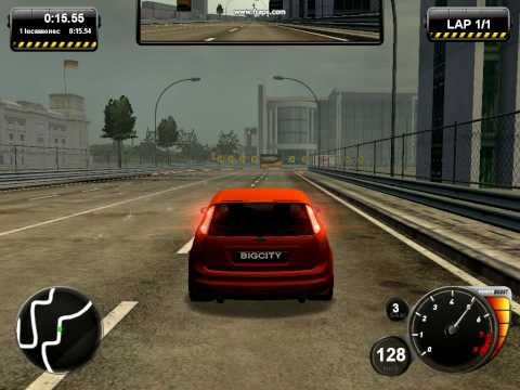 Big City Racer - бесплатная многопользовательская гоночная игра