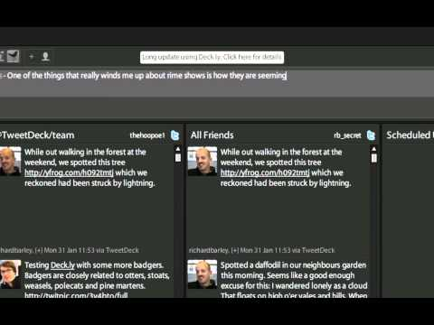 Отправляйте больше твитов в TweetDeck с Deck.ly [Новости]