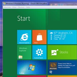 Попробуйте Windows 8 в VirtualBox прямо сейчас бесплатно