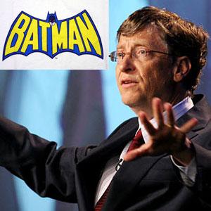 Билл Гейтс лучше, чем Бэтмен? [Инфографика]