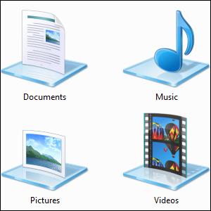 Заставьте библиотеки Windows 7 и 8 работать на вас
