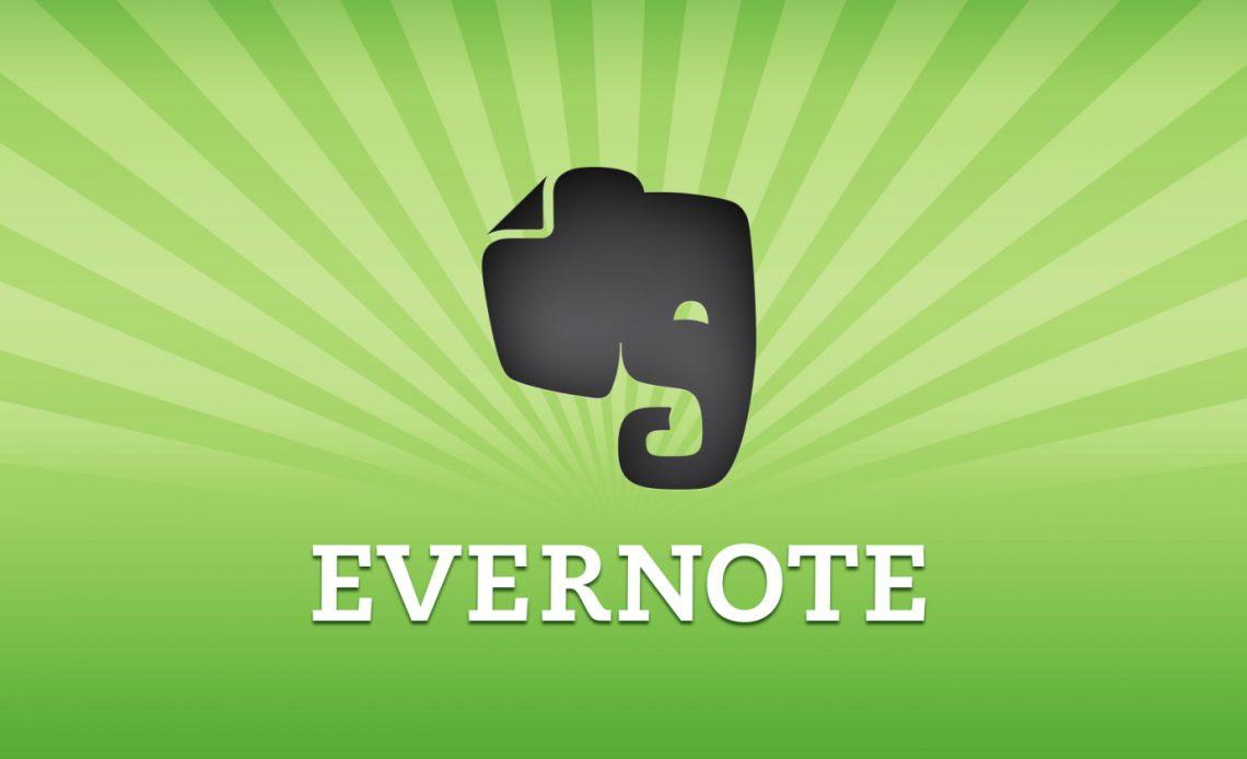 Для отвлекающих встреч - В Evernote для Windows работает режим презентации