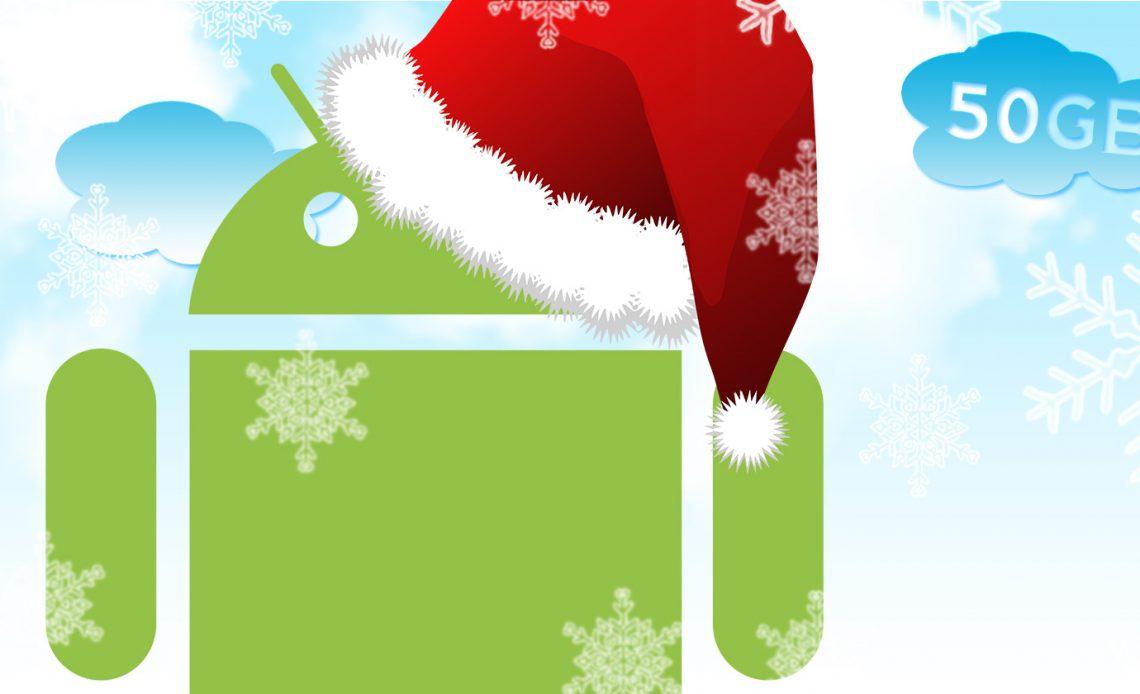Купите телефон Android Select и получите 50 ГБ хранилища Amazon Cloud Drive бесплатно в течение одного года