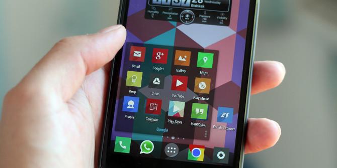 Как установить пользовательские иконки для приложений на Android