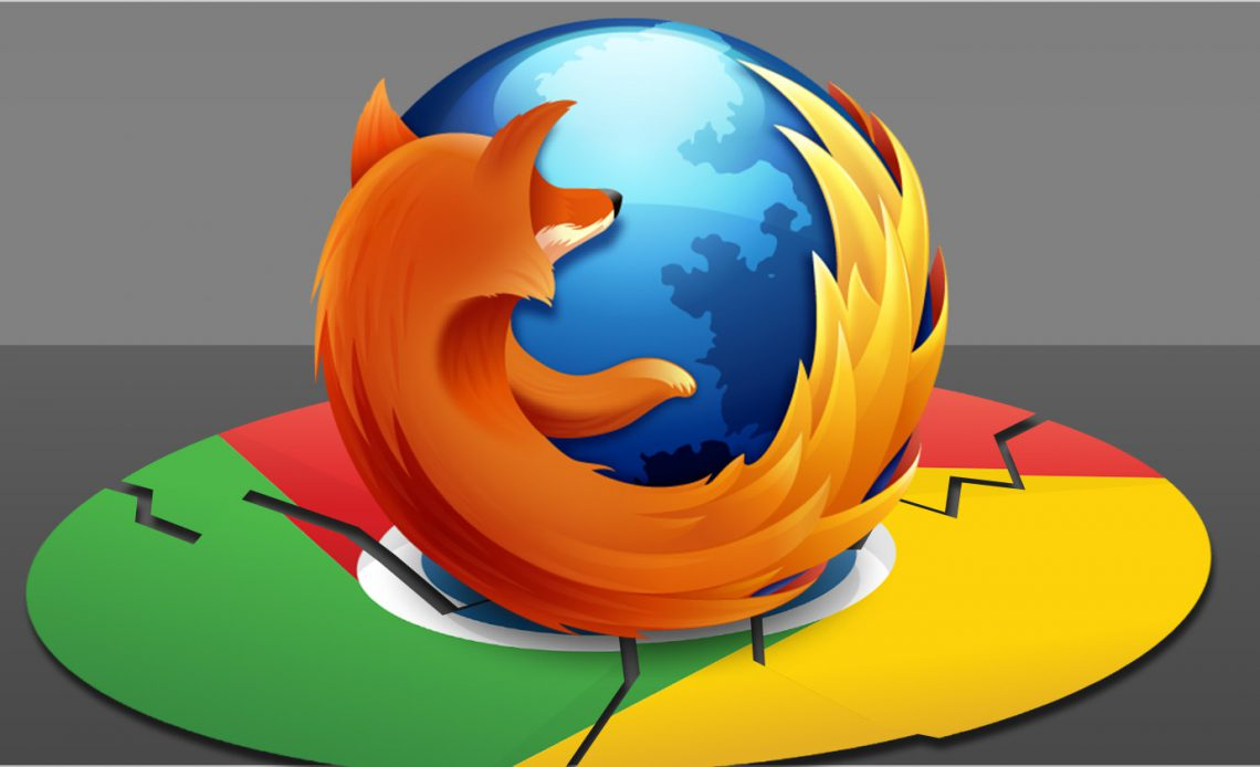 Firefox Свобода!  Четыре вещи Chrome