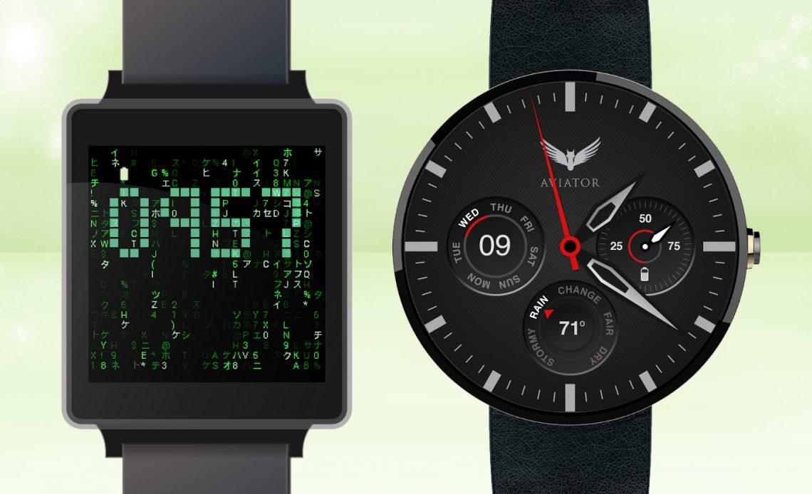 6 крутых циферблатов для вашего Android Wear Smartwatch