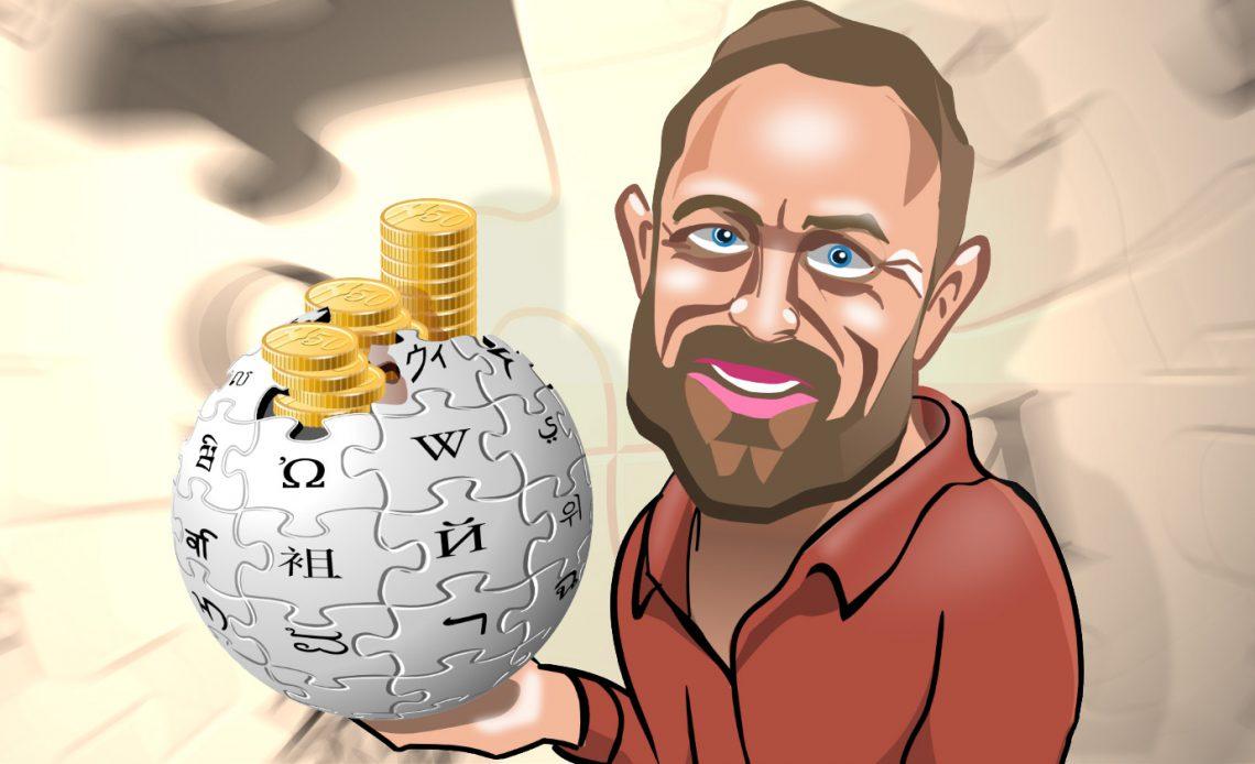 В Википедии миллионы в банке - зачем просить больше?