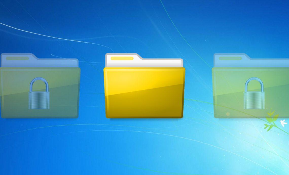 3 быстрых и простых способа скрыть папку в Windows 7