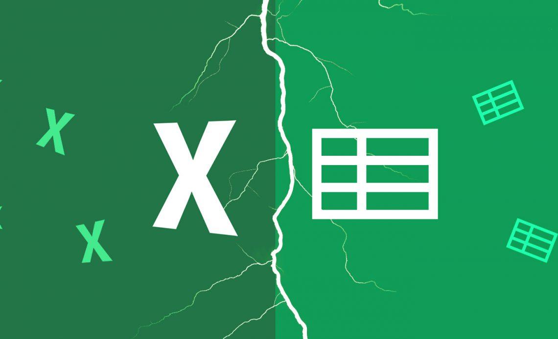 Excel против Google Sheets: какой из них лучше для вас?