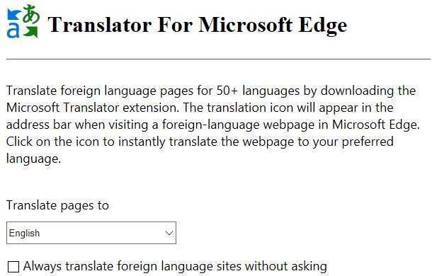 Edge Translator