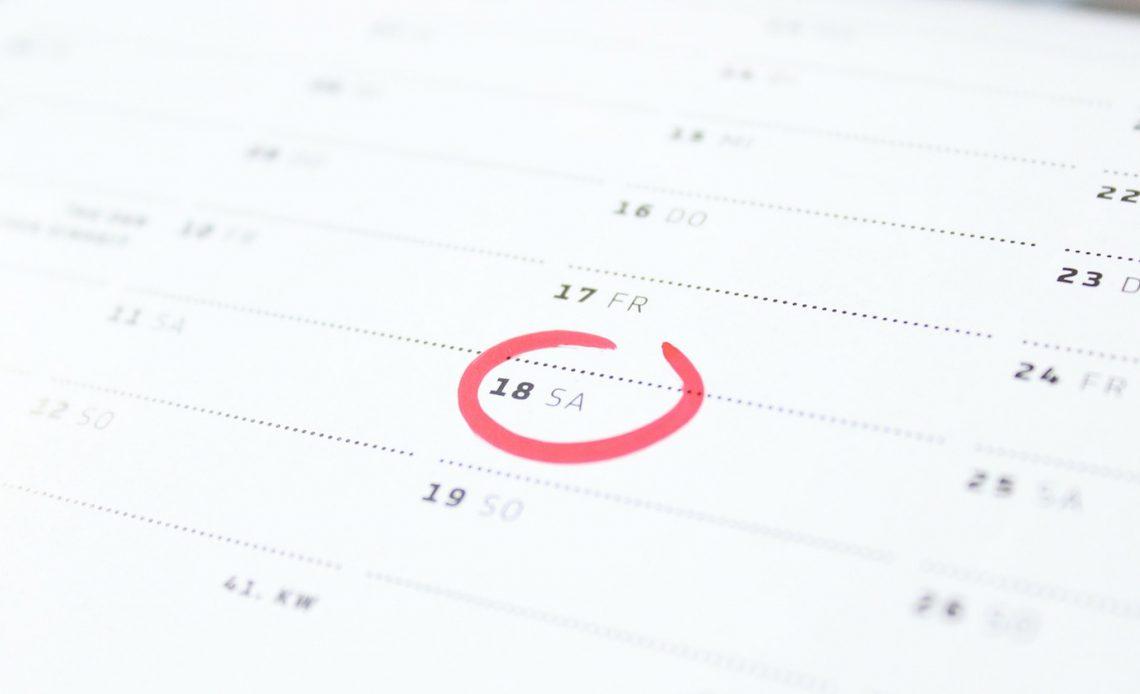Используйте Календарь Google, чтобы отслеживать прогресс в разрешении вашего нового года