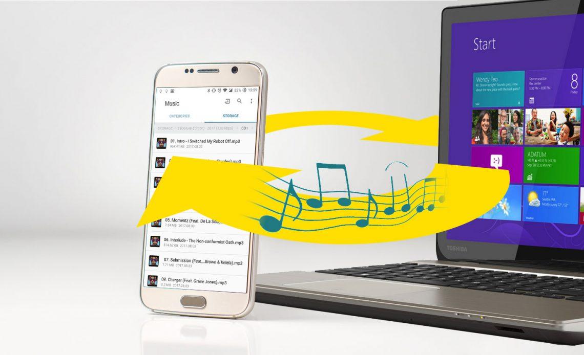 Как синхронизировать музыку с вашим телефоном или планшетом на Android