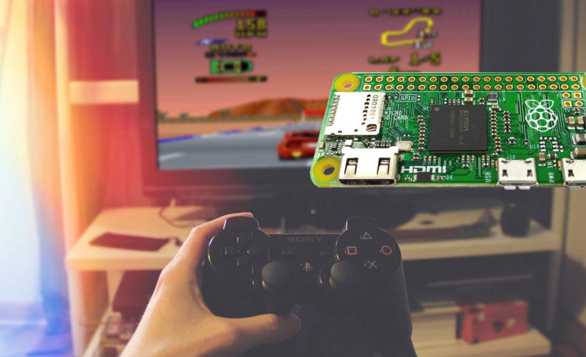 Как превратить телевизор в игровую систему в стиле ретро с Raspberry Pi Zero