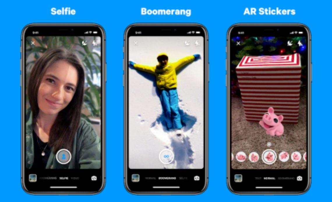 Facebook Messenger добавляет новые хитрости камеры