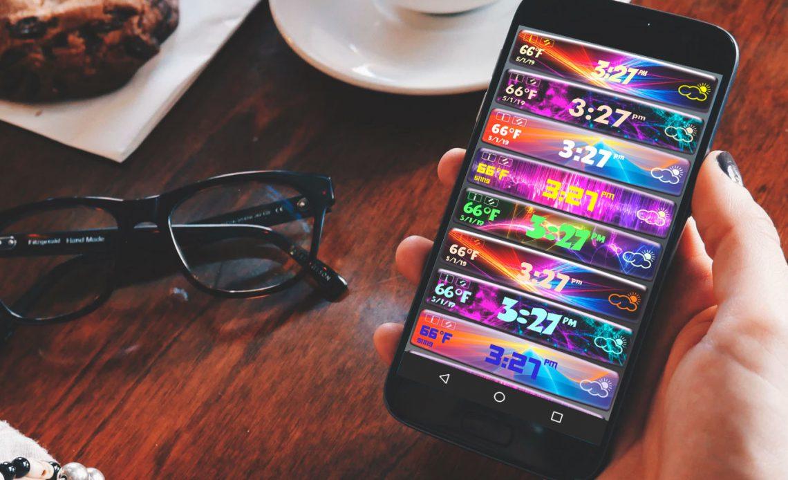 12 лучших бесплатных Android виджетов часов, чтобы сказать время в стиле