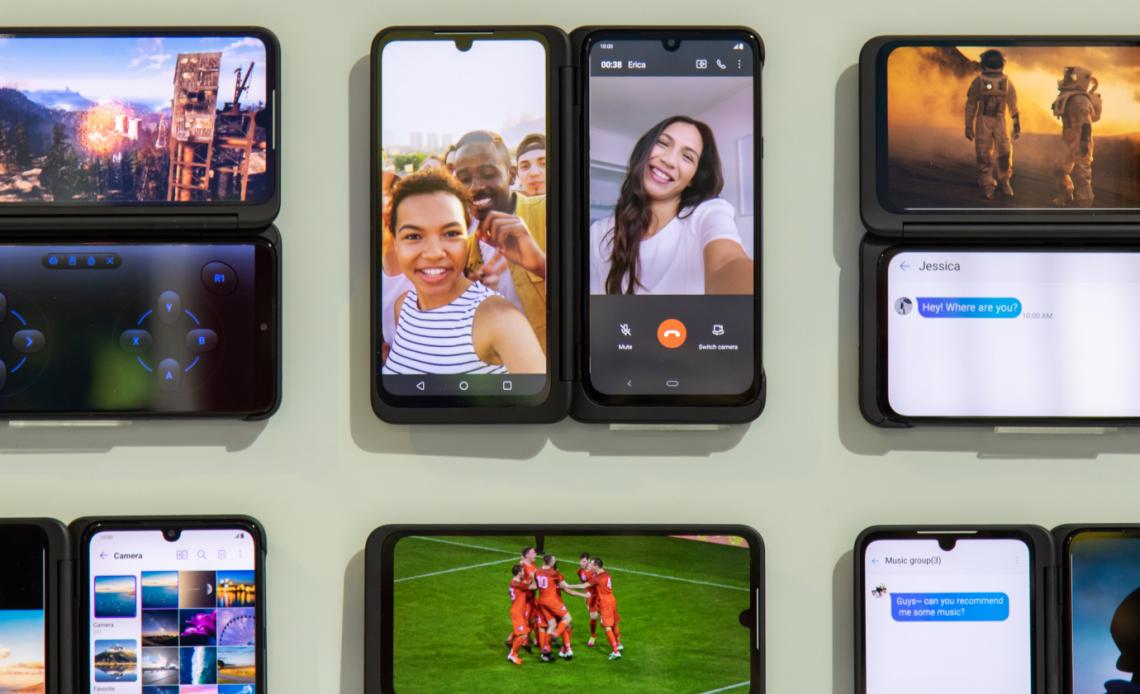Двойной экран LG G8X ThinQ: альтернатива складным экранам