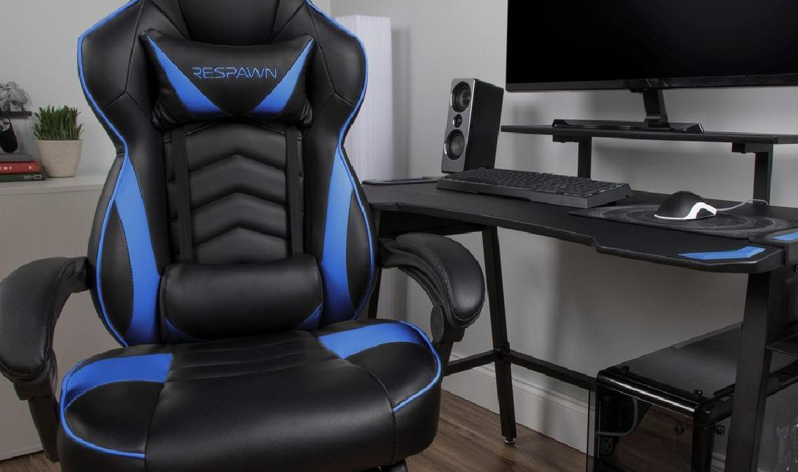 The Respawn-110 gaming chair.