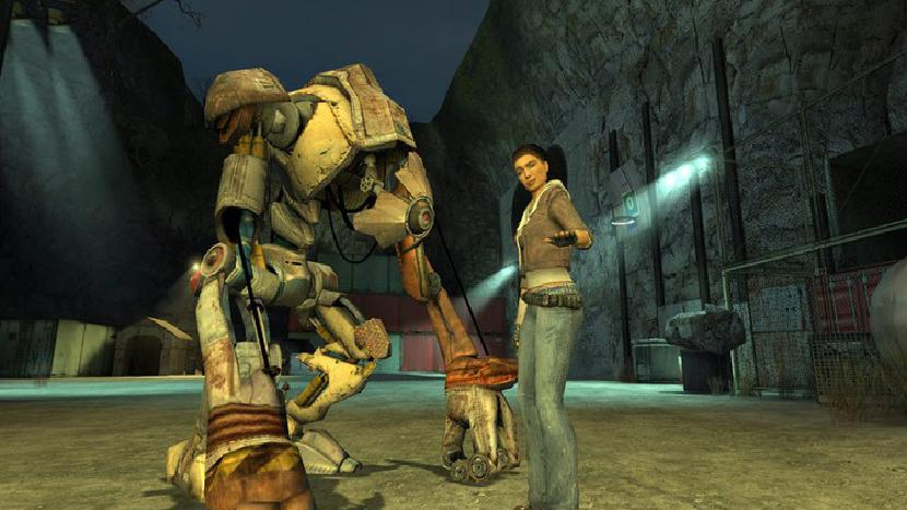 Alyx Vance in Half-Life 2