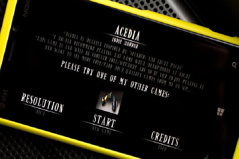 Acedia: инди ужас
