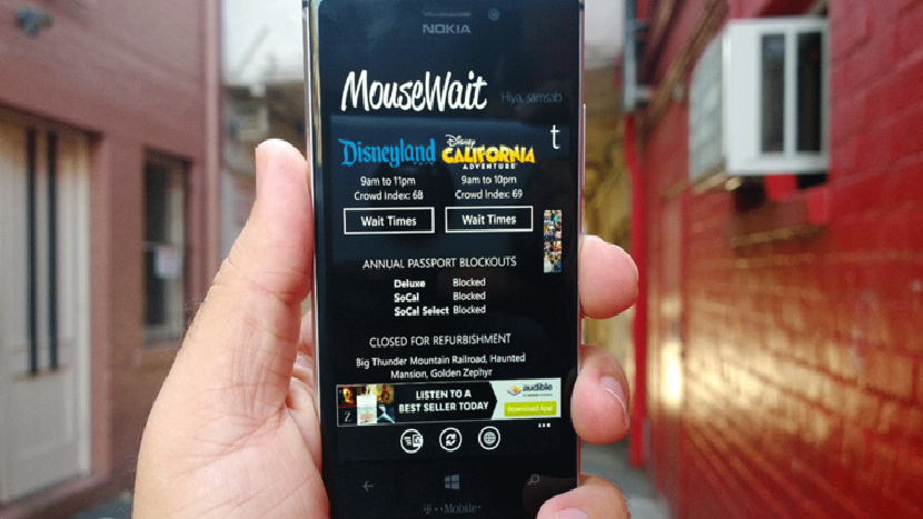 MouseWait для Windows Phone