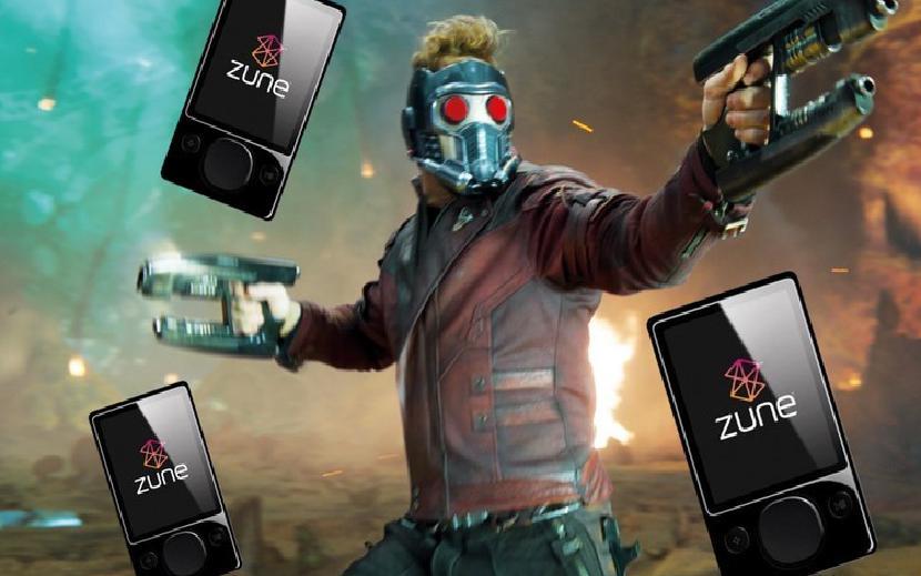 Zune будет играть важную роль в Guardians of the Galaxy Vol. 3
