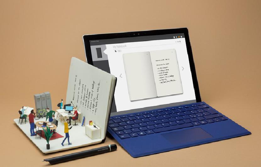 Smart Writing Set от Moleskine теперь позволяет создавать цифровые заметки в Windows 10