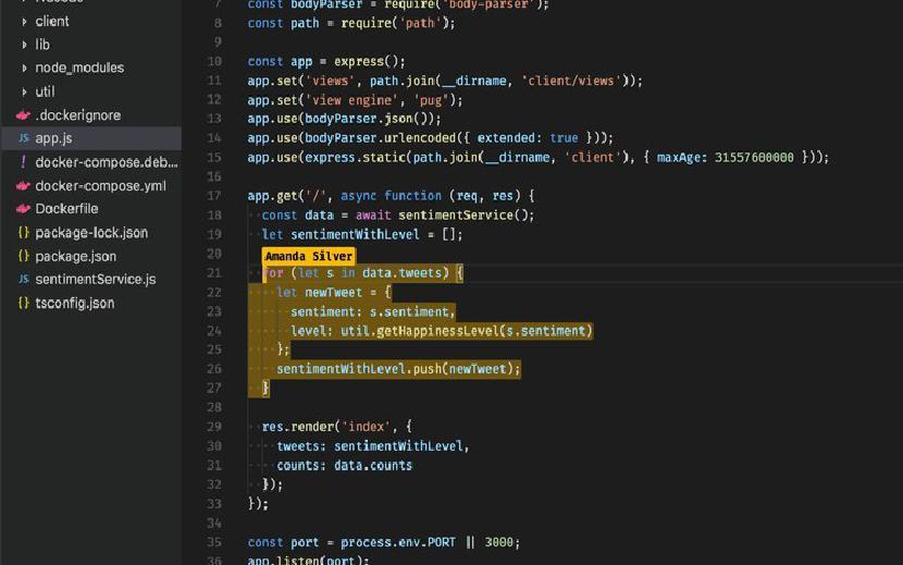 Visual Studio Live Поделиться