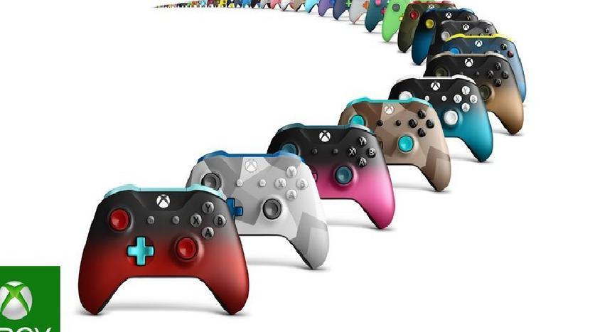 Xbox Design Lab представляет новые варианты дизайна Camo и Shadow для контроллеров