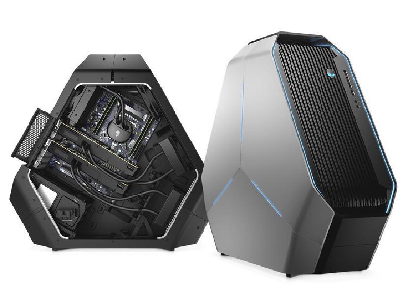 Alienware Area-51 обладает мощью благодаря процессорам Threadripper 2-го поколения