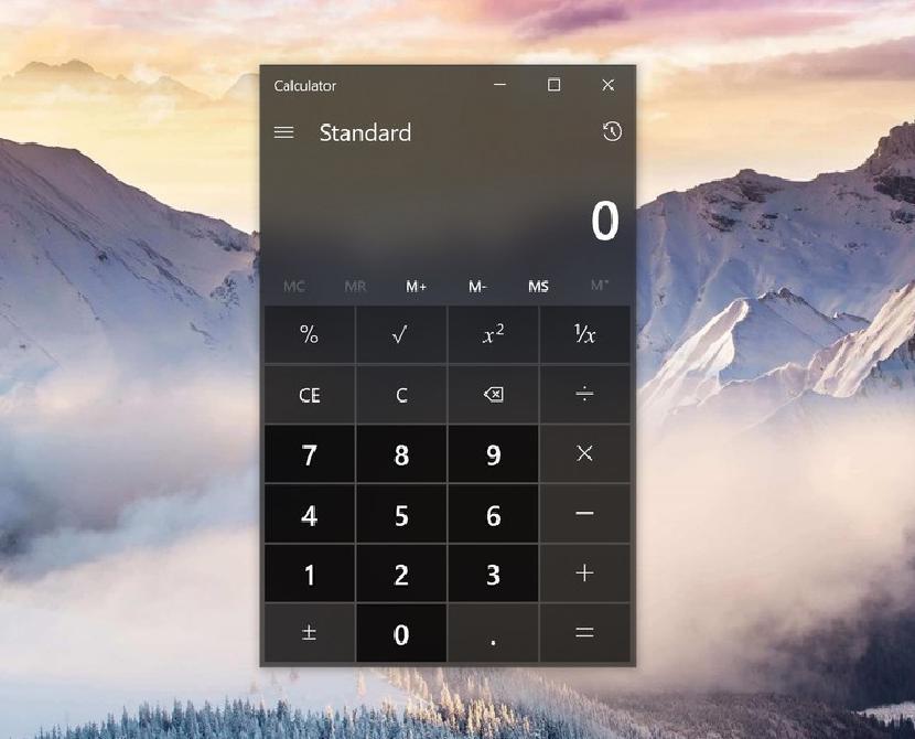 Microsoft с открытым исходным кодом Windows Calculator