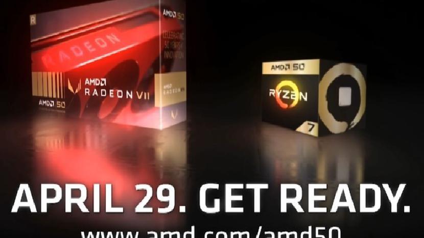 AMD выпускает специальную версию Radeon VII и Ryzen 7 2700X к 50-летию