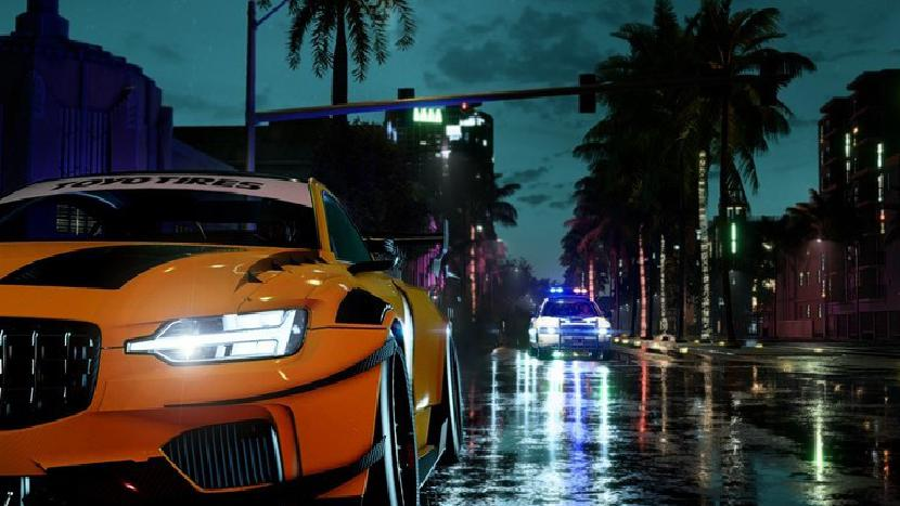 Need for Speed cop car