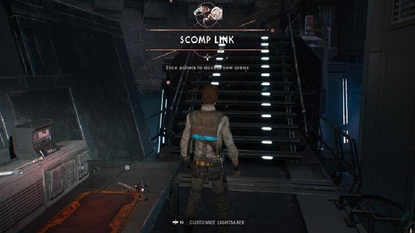 Star Wars Jedi: Fallen Order repaired Scomp Link