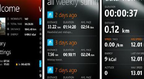 Завтра Sprots Tracker выйдет на WP7