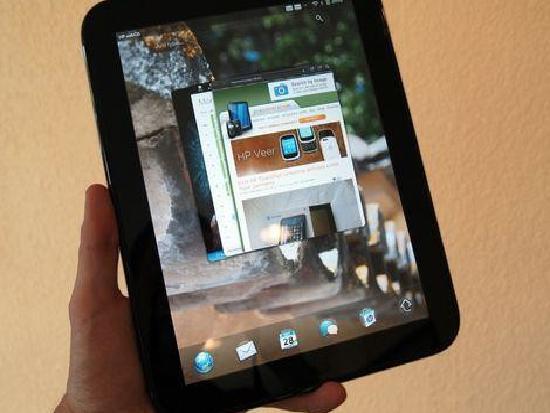 webOS HP TOuchPad с открытым исходным кодом