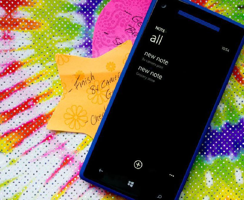 Примечание + Windows Phone 8