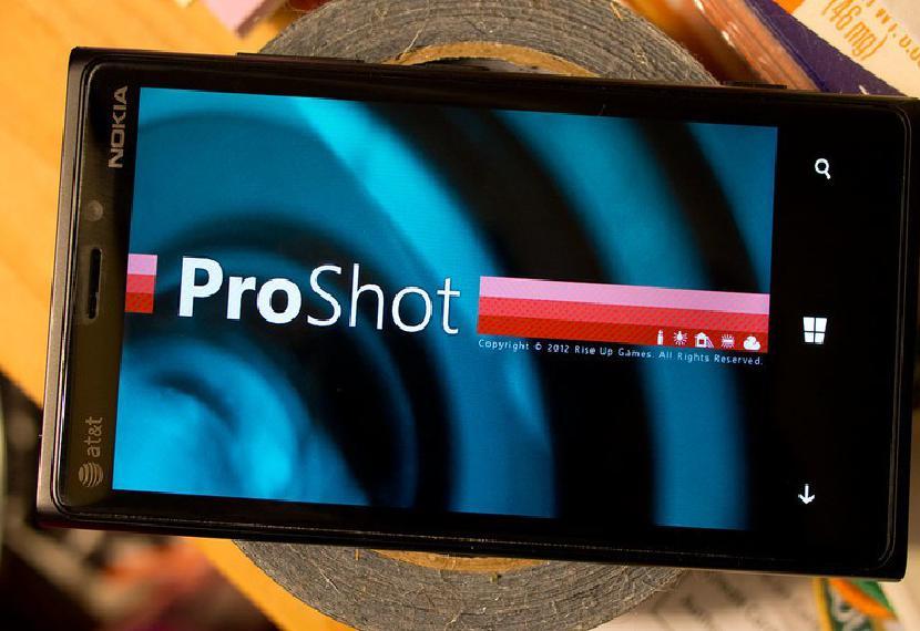ProShot для Windows Phone 8