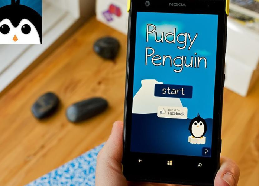 Пухлый пингвин