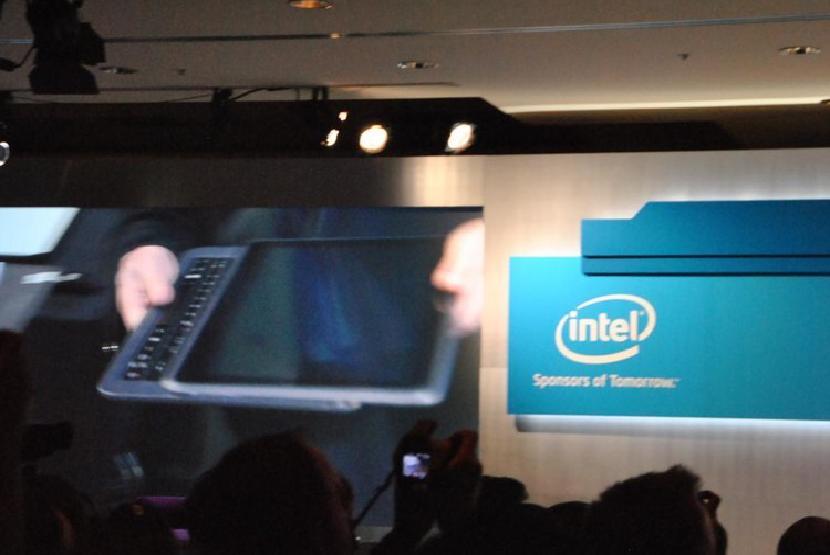 Демо-версия Intel для ультрабуков на CES 2012