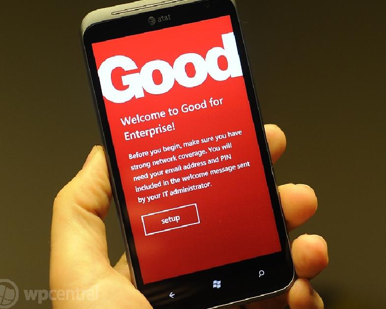 Хорошо для предприятия на Windows Phone