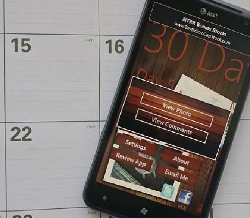 30 Day Challenge для Windows Phone