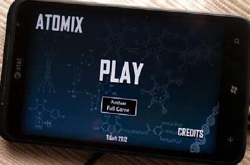 Atomix для Windows Phone
