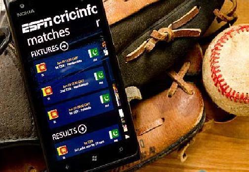 ESPNcricinfo для Windows Phone