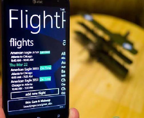 FlightPredictor для Windows Phone