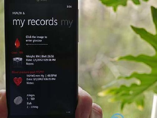 Здоровье и для Windows Phone